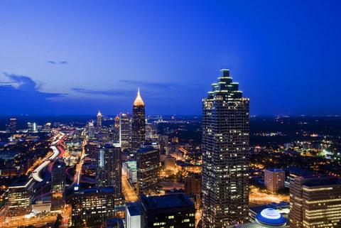 The Westin Peachtree Plaza, Atlanta - North City View