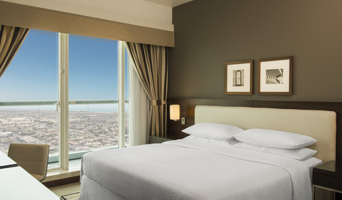 Four Points by Sheraton Sheikh Zayed Road, Dubai - One Bedroom Apartment Bedroom