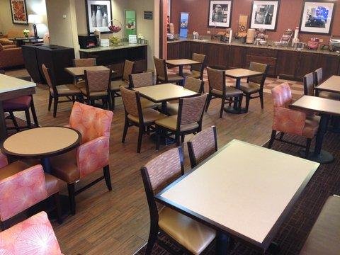 Hampton Inn Altoona - Breakfast Area