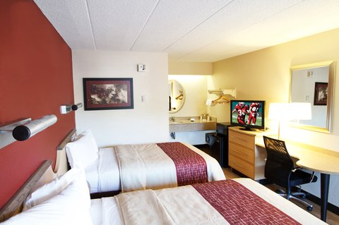 Red Roof Inn Kalamazoo West - Western Michigan U - Deluxe Double
