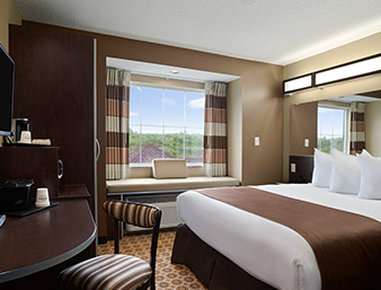 Microtel Inn & Suites by Wyndham Fairmont - Standard 1 Queen Room