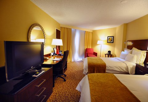 Marriott Albuquerque Hotel - Concierge Double Double Guest Room