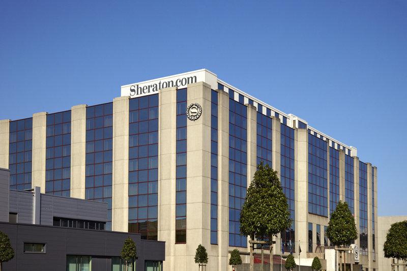Sheraton Brussels Airport Hotel Set udefra