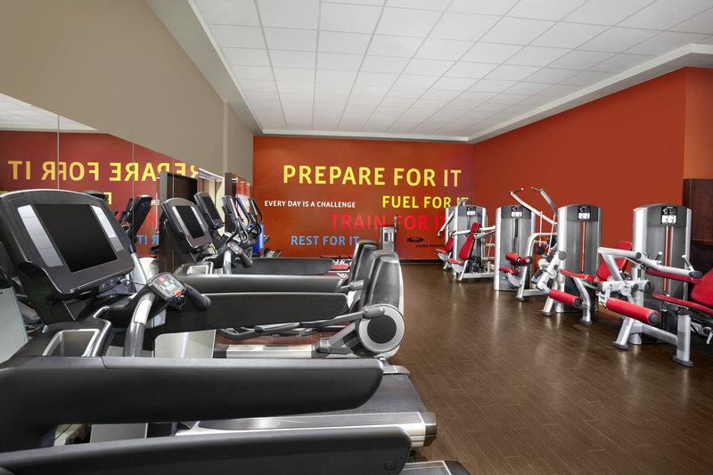 Sheraton Brussels Airport Hotel Fitness-klub