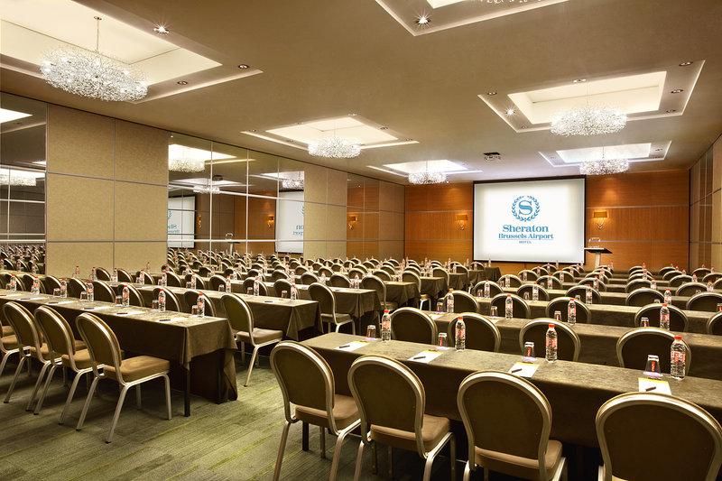 Sheraton Brussels Airport Hotel Konferencelokale
