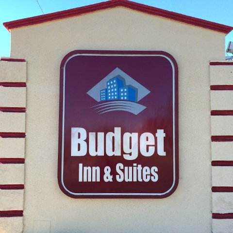 Budget Inn And Suites - Budget Inn Suites El Centro Sign