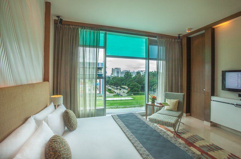 Vivanta by Taj - Whitefield 客房视图