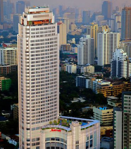 Marriott Executive Apartments Bangkok, Sukhumvit Thonglor Außenansicht