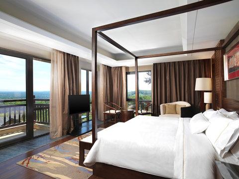 The Westin Changbaishan Resort - Executive Suite Bedroom