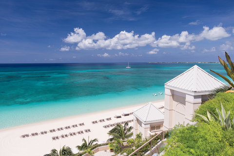 The Ritz-Carlton, Grand Cayman - Beach Overview from tower