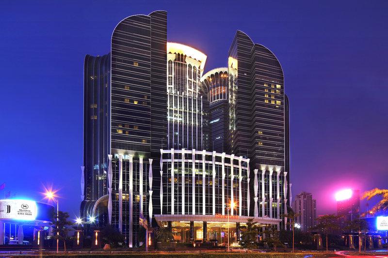 Sheraton Shenzhen Futian Hotel Fasad