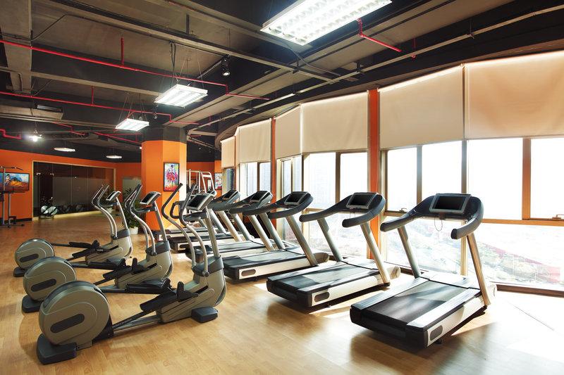 Sheraton Shenzhen Futian Hotel Fitness-klubb