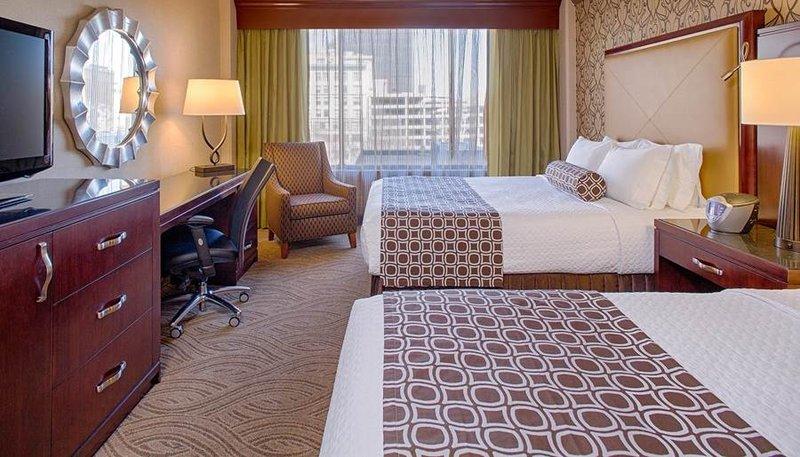 Crowne Plaza Hotel  Dayton Zimmeransicht