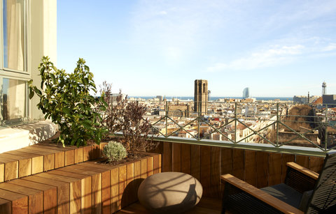 Le Meridien Barcelona - Terrace