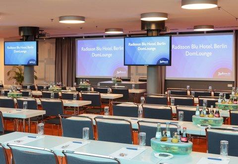 Radisson Blu Hotel, Berlin - Conference Room DomLounge  Nikolai 1