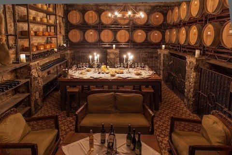 Narbona Wine Lodge - Antigua Cava - Old Cellar