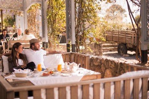 Narbona Wine Lodge - Terraza Restaurante - Restaurant Terrace