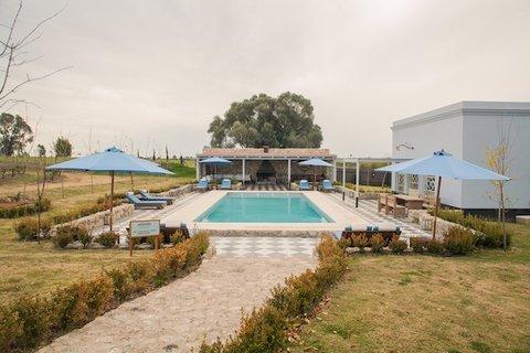Narbona Wine Lodge - Area Piscina - Pool Area