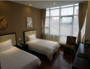 Super 8 Hotel Shanghai Railway Station North Square - Twin Bed Room
