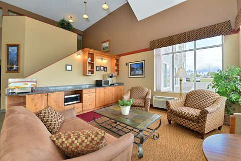Americas Best Value Inn Kalispell - Lobby