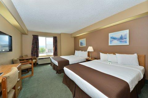 Americas Best Value Inn Kalispell - Two Queen Beds
