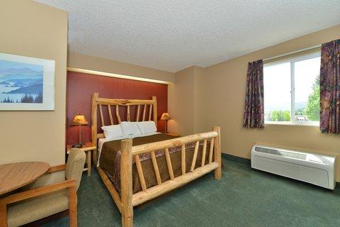 Americas Best Value Inn Kalispell - One Queen Bed Suite