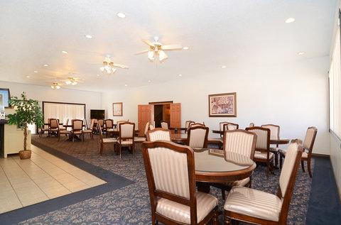 Americas Best Value Inn and Suites El Paso West - Breakfast Area