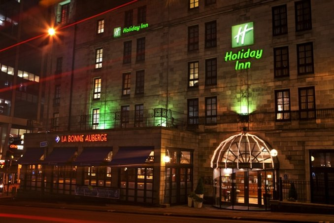 Holiday Inn Glasgow City Centre-Theatreland 外景
