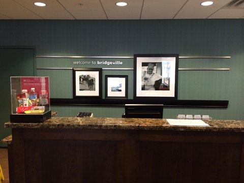 Hampton Inn Bridgeville - Reception