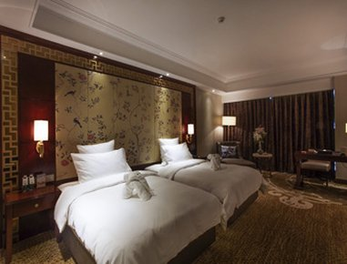 Days Hotel & Suites China Town Changsha - Twin Beds Guest Room