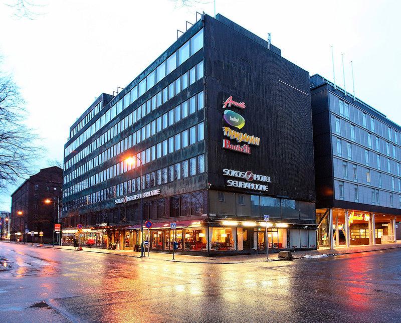 Sokos Hotel Seurahuone Kotka Ulkonäkymä