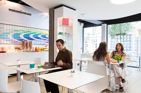 The Pantone Hotel Brussels - Dining
