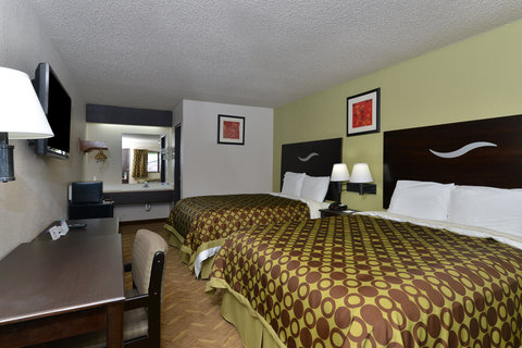 Americas Best Value Inn Kansas City East Independence - Two Queen Beds2