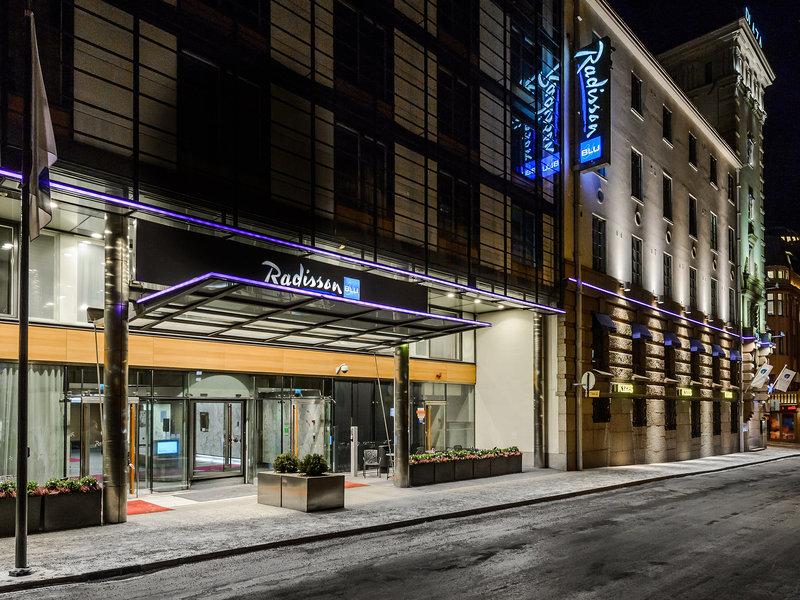 Radisson Blu Plaza Hotel, Helsinki 外観