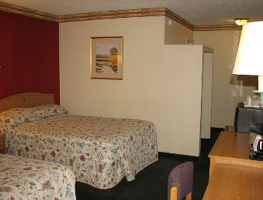 Knights Inn Downtown Albuquerque - Double Bed Room