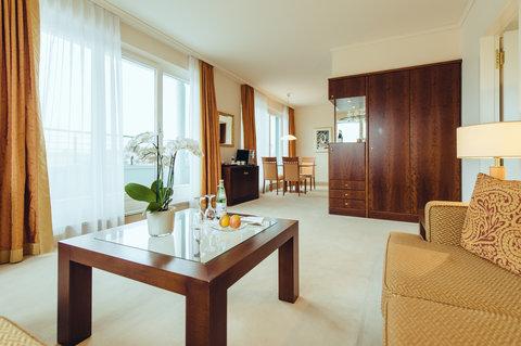 غراند إيليسي هامبورغ - Corner Penthouse Suite at GRAND ELYSEE Hamburg