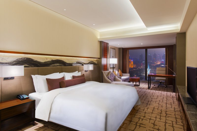 Crowne Plaza Hotel Jinan View of room