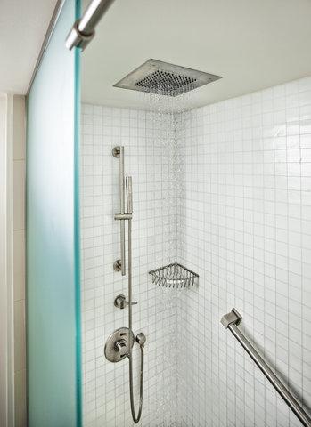 هيلتون فورت لودرديل مارينا - Guest Room Shower