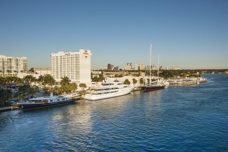 Hilton Fort Lauderdale Marina Fasad