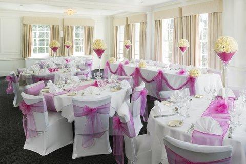 Park Inn Thurrock - banquet room