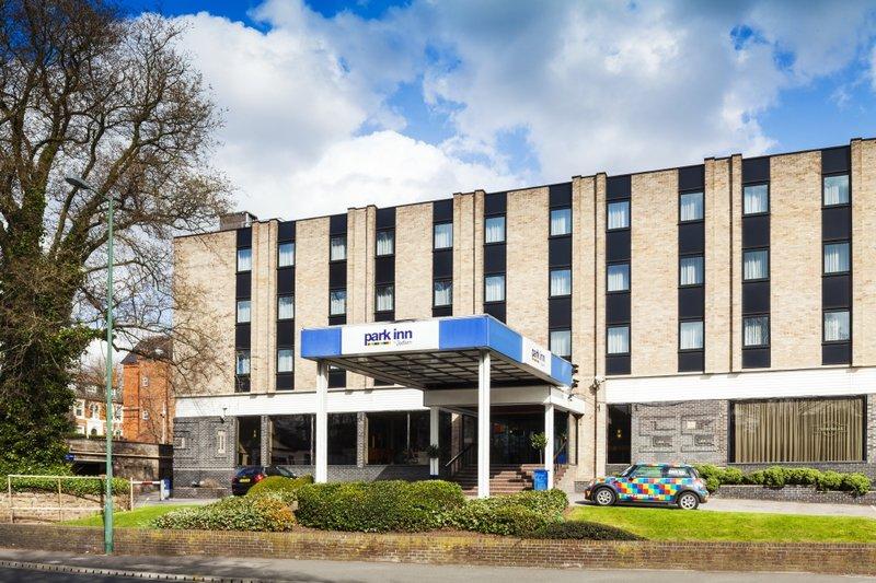 Park Inn by Radisson Nottingham Widok z zewnątrz