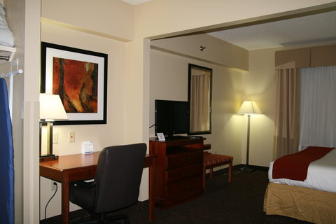 Holiday Inn Express & Suites GREENVILLE - King Mini-Suite Bedroom  2