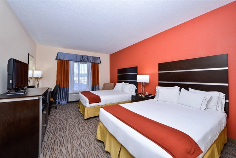 Holiday Inn Express Hotel & Suites Houston-Kingwood Vista de la habitación