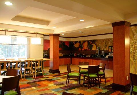 Fairfield Inn & Suites Birmingham Fultondale/I-65 - Breakfast Area   Buffet