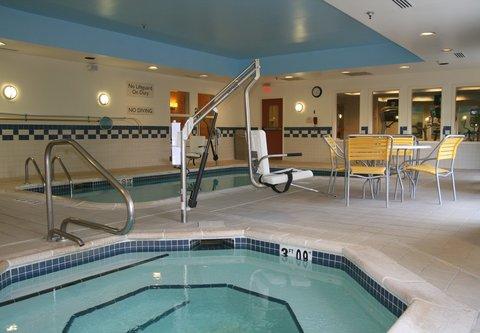 Fairfield Inn & Suites Birmingham Fultondale/I-65 - Indoor Pool   Spa