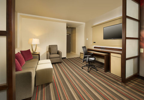 Courtyard by Marriott Dallas DFW Airport North/Grapevine - Suite   Living Area