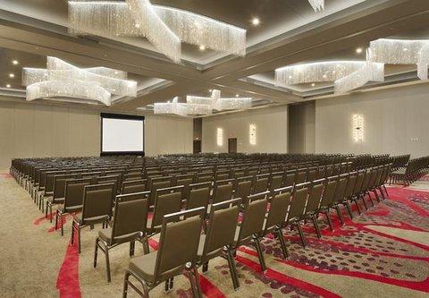 Courtyard by Marriott Dallas DFW Airport North/Grapevine - Silverlake Ballroom   Theater Setup