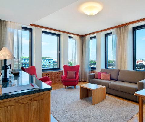 Sokos Hotel Vaakuna Helsinki - Sokoshotel Vaakuna Helsinki Suite Livingroom