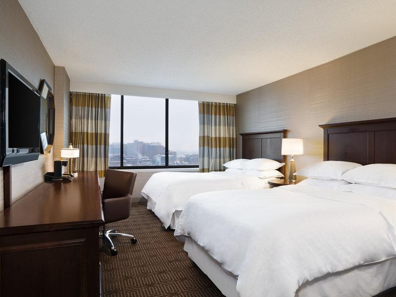 Sheraton Philadelphia University City Hotel 客房视图