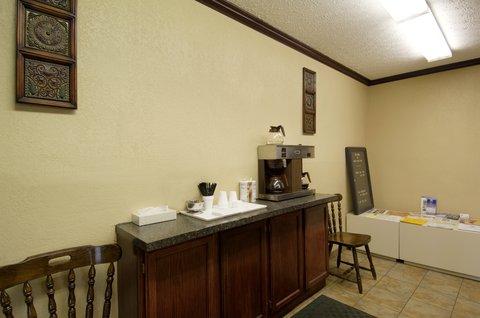 Americas Best Value Inn - Breakfast area